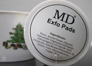 Tẩy tế bào chết dạng miếng MD Exfo Pads